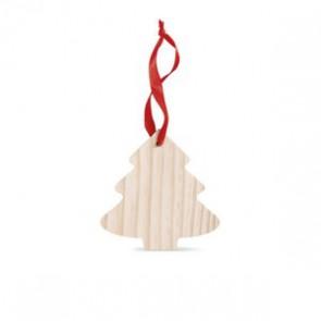 kerstboom hanger bedrukken met logo
