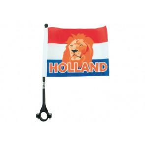 16651 Fiets vlag Holland