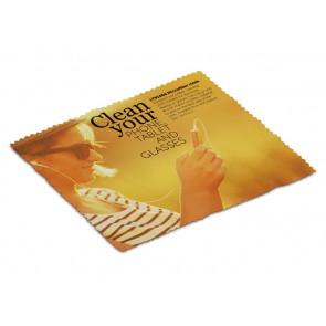 Schoonmaakdoekje / Brillendoekje - Microvezel schoonmaakdoekje 15 x 18 cm goedkoop bedrukken