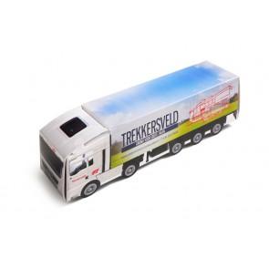 Truck gevuld met snoepjes - Vrachtwagen met snoepjes all-over bedrukken