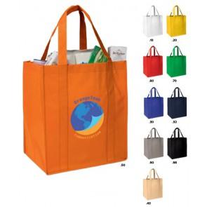 Goedkope Big Shoppers bedrukken met logo of tekst.