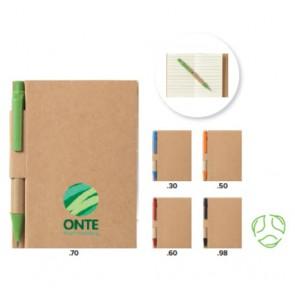 milieuvriendelijk notitieboekje bedrukken