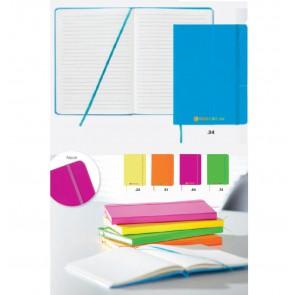 notitieboekjes neon kleur bedrukken