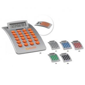 rekenmachine met rubberen toetsen bedrukken