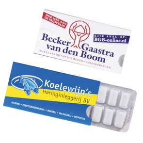 kauwgom-pakjes