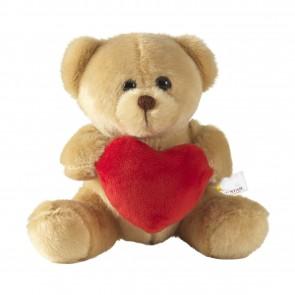 Knuffelbeer met hart bedrukken