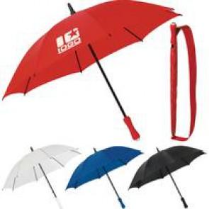6245 Newport Paraplu in opberghoes met schouderriem