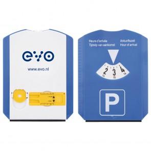 Parkeerschijf met bandenprofielmeter goedkoop bedrukken
