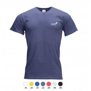 V-hals shirts bedrukken met logo
