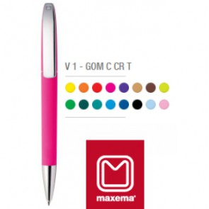 maxema view pennen rubberized bedrukken