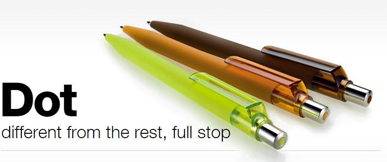 Maxema DOT pennen bedrukken
