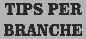 Tips per branche